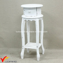 C Antique Decorative Stools with One Drawer