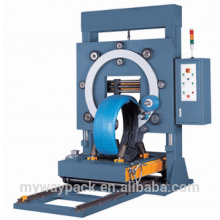 vertical steel wire coil packing machine