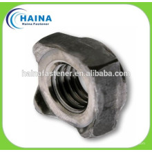 stainless steel 304SS DIN928 Weld square nuts, weld nut M4-16