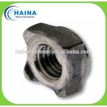 Нержавеющая сталь 304SS DIN928 Сварные квадратные гайки, сварка M4-16
