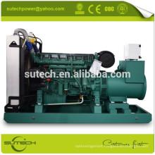 Continuous power 400Kw Volvo Diesel Generator, Volvo engine-TAD1641GE, Stamford alternator