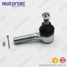 Peças de suspensão de qualidade tie rod end para Toyota 45046-39165, 24 meses de garantia
