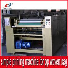 Opération facile Machine simple par pièce Machine d'impression pour sac en tissu PP