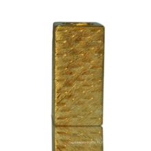 Grossistes en céramique adaptés aux besoins du client de chandelier en céramique de placage à l'or