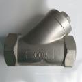 Filtro em Y de aço inoxidável 304/316 com rosca NPT
