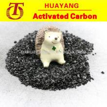 Kohlebasierte körnige Aktivkohle für die Wasseraufbereitung