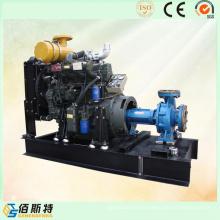 China 50HP30HP25HP Bomba de agua de la impulsión del motor diesel fijada