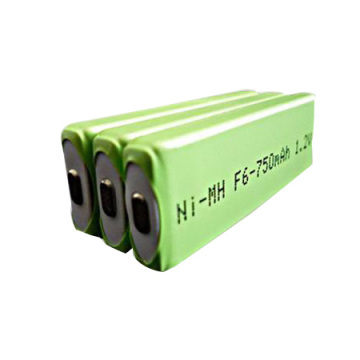 Batterie prismatique Ni-MH F6 750mAh