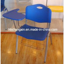 Newest High Quality Plastic Student Chair with Writing Tablet