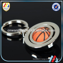 Volleyball Keychain,rotating Cool Keychain