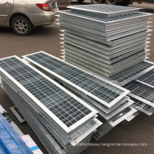 Trench Drain Grating Cover Driveway Drainage Channel Cover Stainless Steel Grating