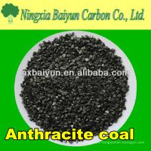 Recurso fijo de carbón de antracita al 90% para el tratamiento de aguas residuales