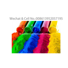 Epoxy Polyester Ral / Pantone Warna Elektrostatik Powder Coating Spray
