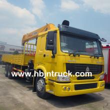 Howo guindaste duro do caminhão do crescimento de 14 toneladas para a venda