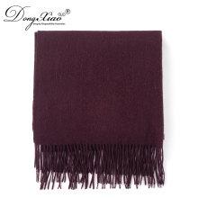Chapeau et écharpe ensembles écharpes surdimensionnées Mode pas cher écharpe en laine Lady épais