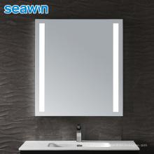 Seawin Wall Decor Aluminum Anti Fog Illuminated Lighting Bathroom Led Mirror