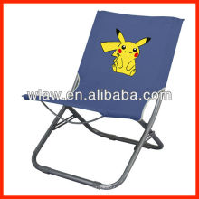 cadeira de lazer dobrável colorido