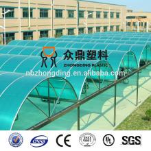 SGS China 4mm / 6mm / 8mm / 10mm hoja hueco de la PC / hoja hueca de la PC de la pared gemela