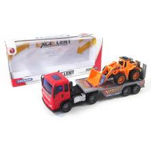 Coche al por mayor del juguete de la fricción plástica con 1 diapositiva Excavator para los niños (10206156)