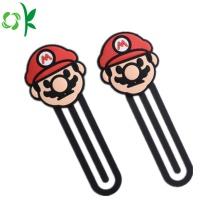Bookmark popular do silicone dos desenhos animados para o livro
