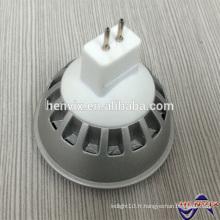 5W blanc chaud Mr16 gu5.3 projecteur 12v conduit