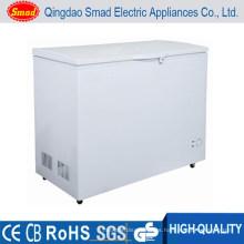 Refrigerador superior solar de la abertura 12v / 24v, congelador de pecho sólido de la puerta, congelador al aire libre