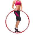 Aro de exercício de fitness ponderado para adultos e iniciantes Aro de exercício esportivo de perda de peso Equipamento de treino destacável de design para mulheres e homens