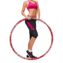 Aro de ejercicio de fitness ponderado para adultos y principiantes Aros de ejercicio deportivo de pérdida de peso Equipo de entrenamiento de diseño desmontable para mujeres y hombres