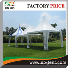 pagoda gazebo wedding party tent 6x6m made of durable aluminum frame for outdoor wedding ceremony event