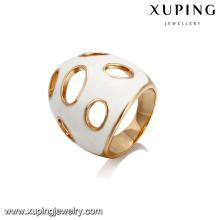 14407 Xuping Bijoux mode nouveau design Bague populaire plaqué or 18 carats