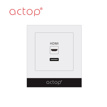 Interruptor HDMI Socket Resort Switches
