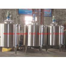Tanque de mezcla de calefacción eléctrica de acero inoxidable sanitario
