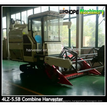 Wishope 4lz-5.5 Rice Combine Harvester for Sale