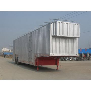 14m Two Axle Vehicle Transport Semi Trailer