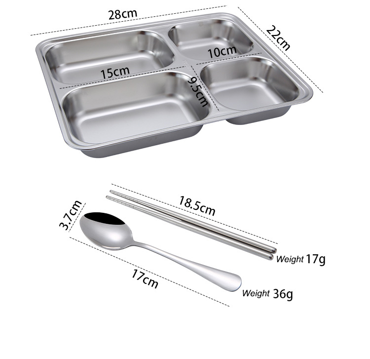 Portable Food Warmer Stainless Steel Bento Lunch Box 1