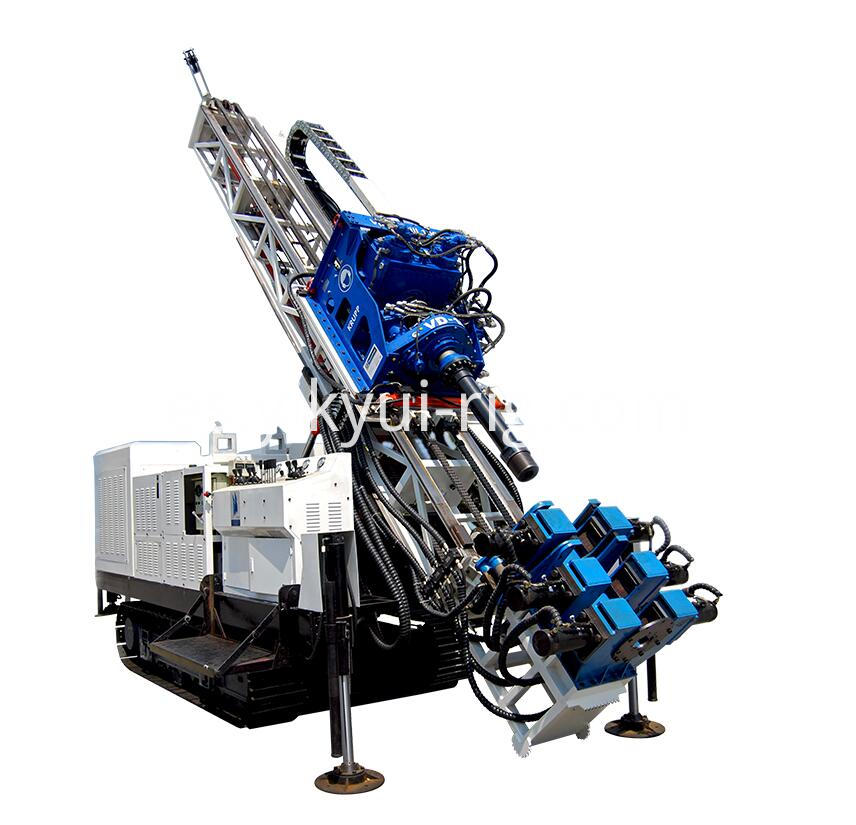 Professional Crawler Mounted Surface Core Drilling Rig Exploration Deep Well Sonic Drilling Rig