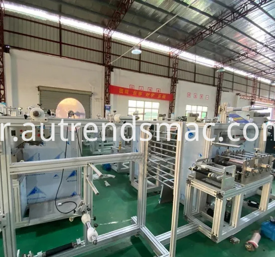 Automatic KN95 Mask Machine