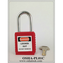 Red Safety Padlock Tagout