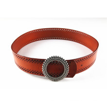 Fashion New Style Lady′s Waist Punching Belt with Heronsbill Belt Buckles -Jbe1625
