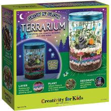 Creativity for Kids Grow ′n Glow Terrarium Kit for Kids - Science Activities for Kids