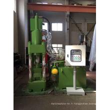 Machine de fabrication de blocs de débris de sciure de métal hydraulique