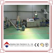 Línea de producción de pellets de plástico WPC de madera Sjsz