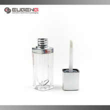 Lipstick style lip gloss packaging , AS and PETG material lip gloss tube
