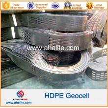 Geocell plástico de HDPE para refuerzo de River Soild
