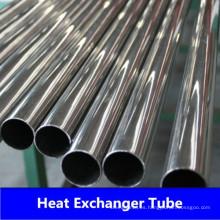 Tubos soldados con intercambiador de calor ASTM249 con material 304 304L 316L