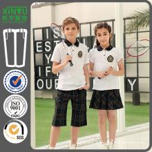 2016 Polo Style Boys Modèle d'uniforme scolaire