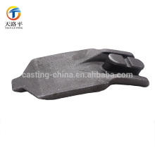 OEM nice quality aluminum&steel cast parts machinery part with lost wax casting