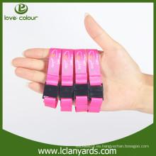 Nuevo wristband de la tela del festival del estilo con la hebilla del detach