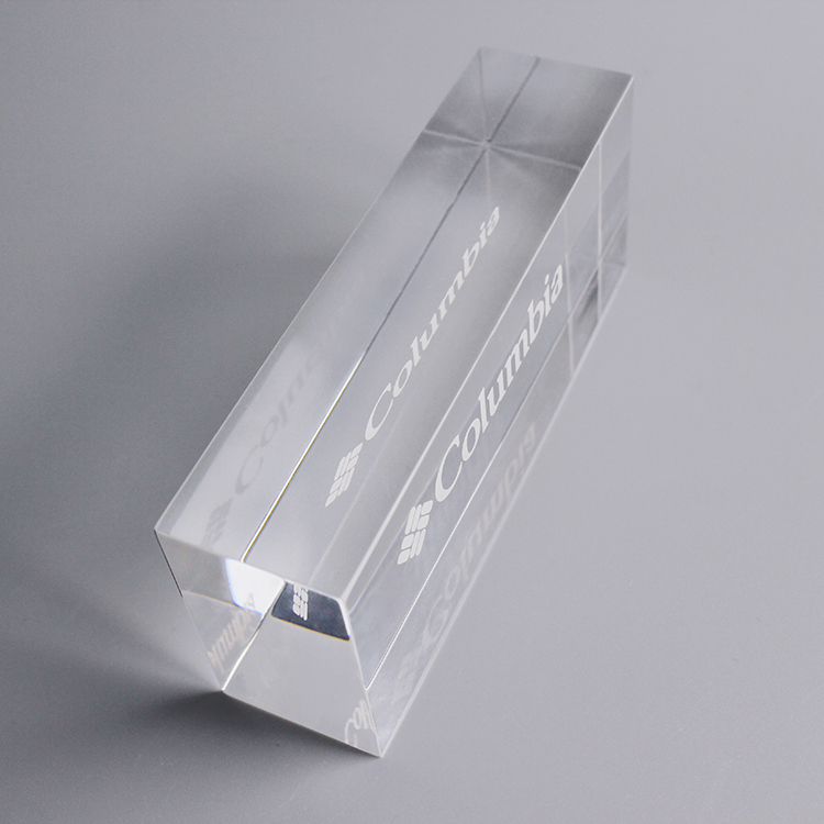 Frosted Acrylic Display Blocks