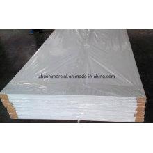 Corte do router do CNC da placa da espuma do PVC